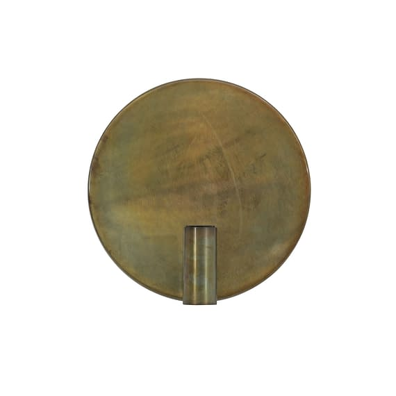 Wandlamp Ø30 cm DISC goud-grijs