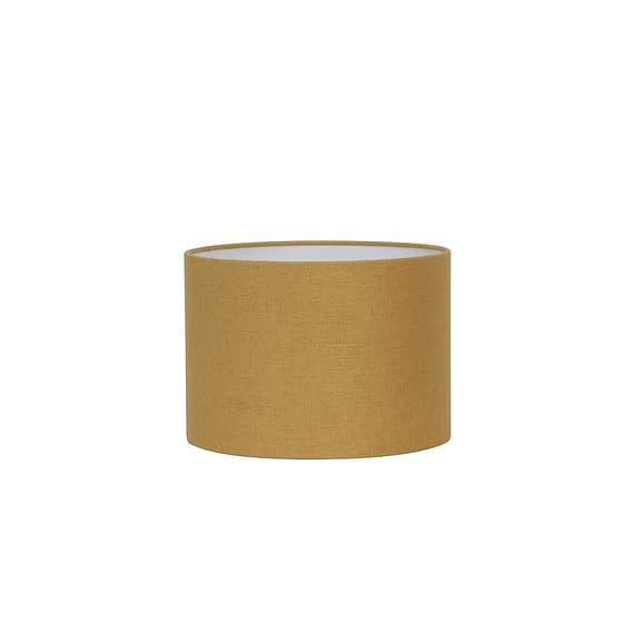 Cilinder lampenkap Livigno - Oker - Ø30x21 cm