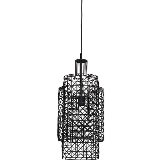 Hanglamp DEBBY - zwart - L