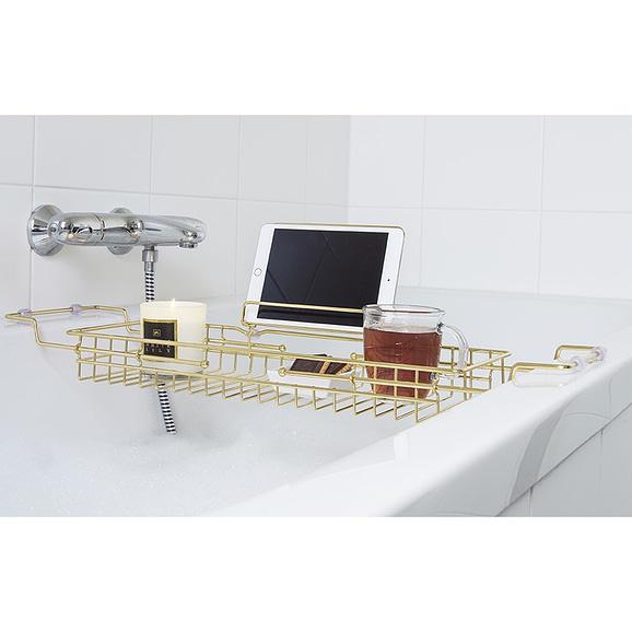 - Bath tub caddy iron gold plated