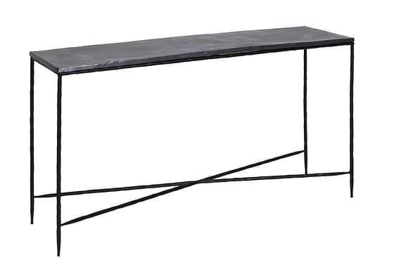 Light & Living Sidetable Locobe - Antiek Lood - 140x39x80 cm