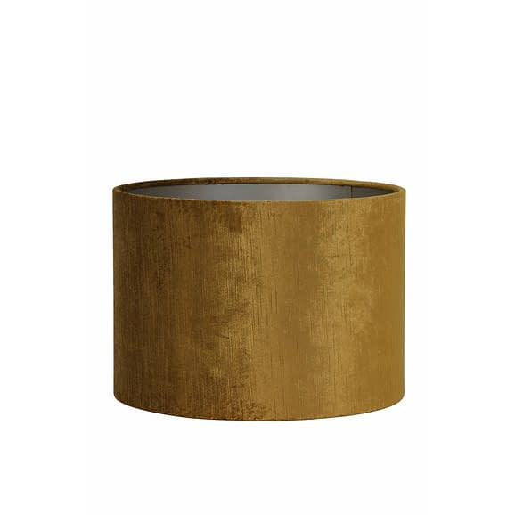 Lampenkap cilinder GEMSTONE - 35-35-30cm - goud