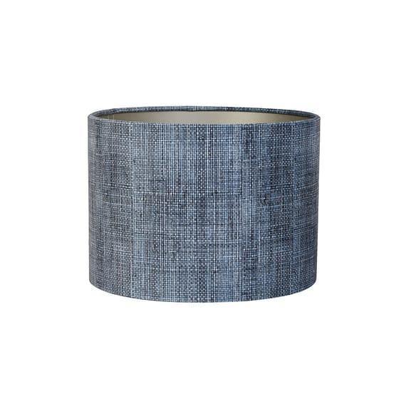 Kap cilinder 30-30-21 cm BARK blauw