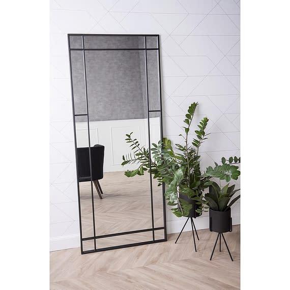 - Plant pot set Pedestal XL iron matt black