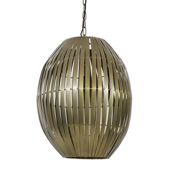 Hanglamp Kyomi - Antiek Brons - Ø42x57 cm