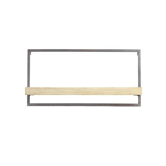 Wandplank MADDISON hout naturel - XS