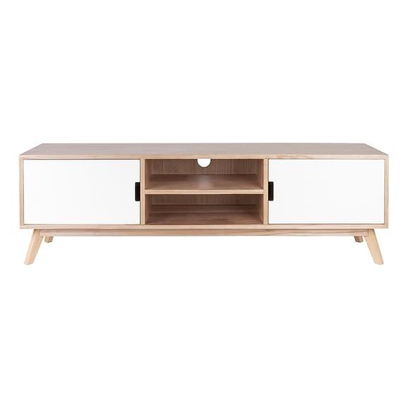 Bruin Televisiekast Snap wood - met 2 deuren -150x36x45cm