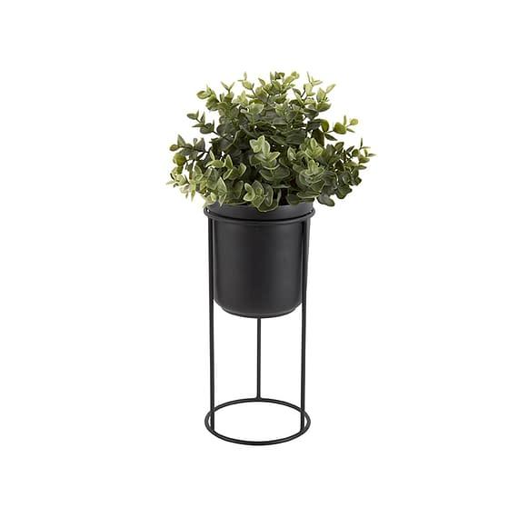 Zwart Plantenpot Tub - op standaard