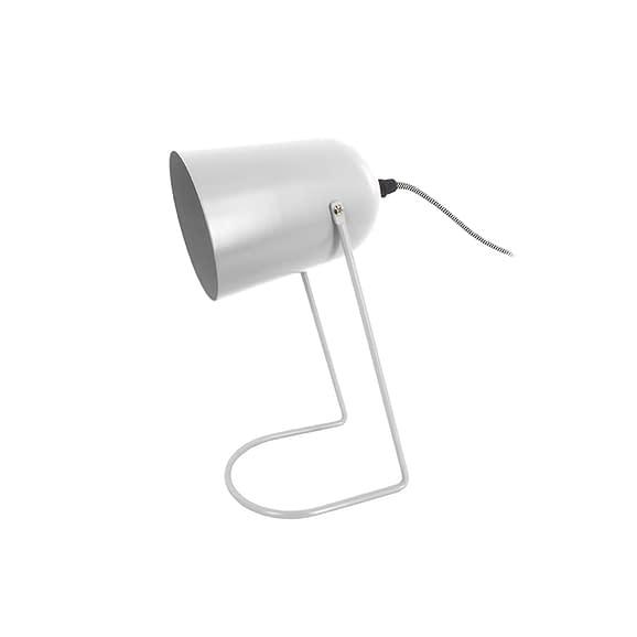 Wit Tafellamp Enchant - IJzer Mat Wit - 30x18cm
