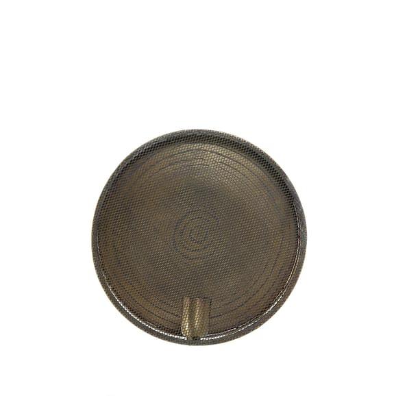 Wandlamp Ø30x14 cm SPIRASH antiek brons spiraal