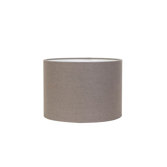 Cilinder lampenkap Livigno - Lever - Ø30x21 cm
