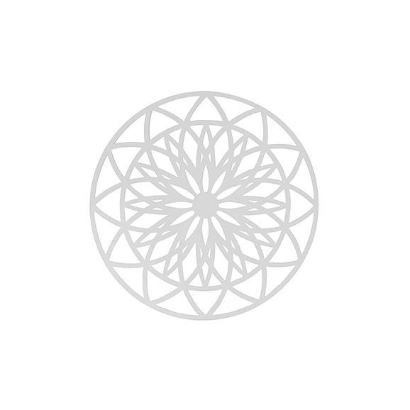 Wit Muurkunst Fairytale - Wit - Medium - Ø40cm