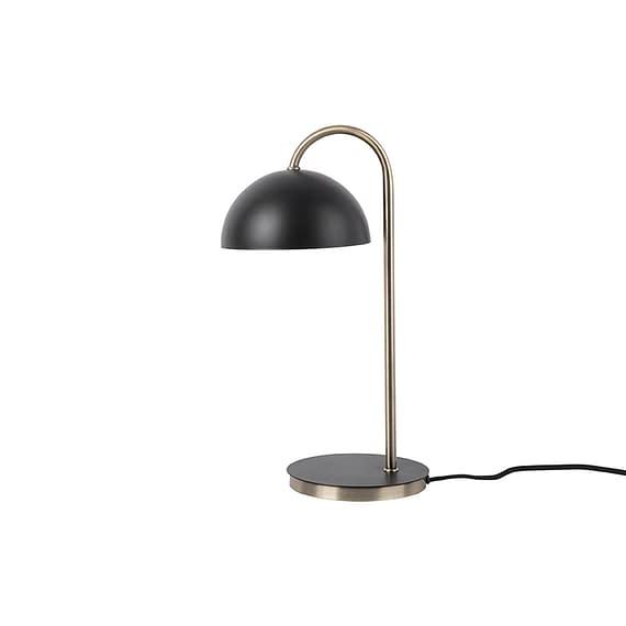 Leitmotiv - Tafellamp Dome - IJzer mat Zwart - 20x14x36