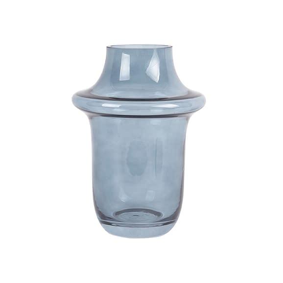 Blauw Vaas Prestige - Glas Donkerblauw - Large - 20x27cm