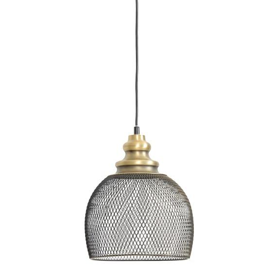 Hanglamp KARLEEN - gaas Antiek-brons