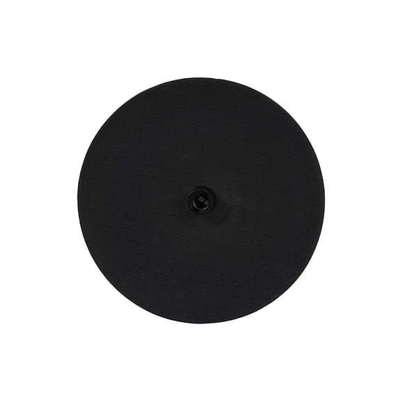 Wandlamp Ø40x9 cm VENUS keramiek zwart