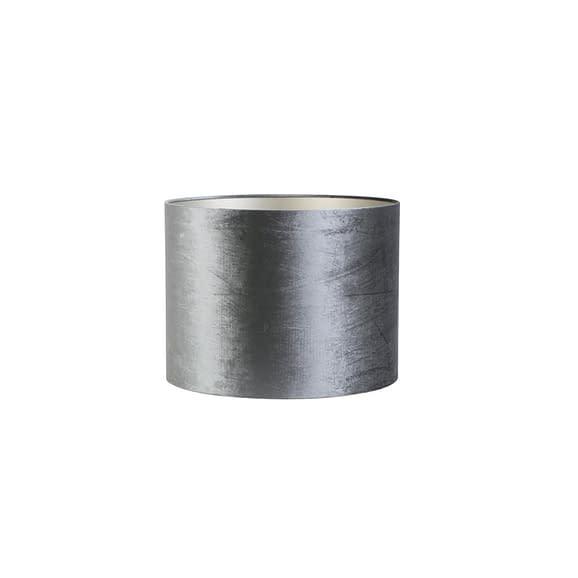 Cilinder lampenkap Zinc - Graphite - Ø40x30 cm