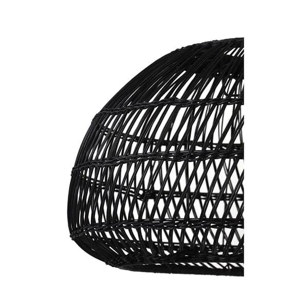 5x30 cm EVELIE rotan zwart