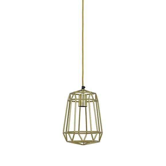 Hanglamp 20x20x28 cm MOLUN goud