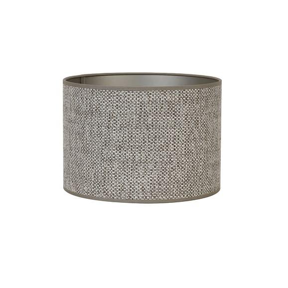 Cilinder lampenkap Saverna - Bruin - Ø30x21 cm