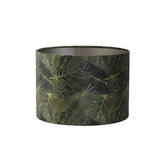 Cilinder lampenkap Amazone - Groen - Ø40x30 cm