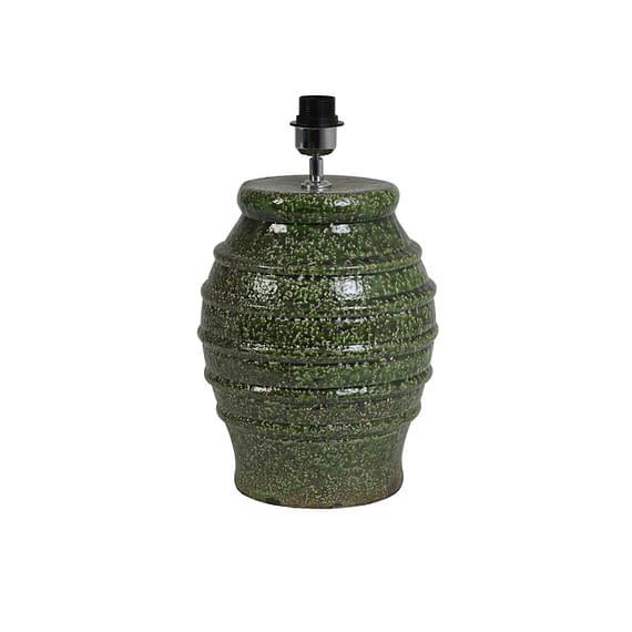 Lampvoet Ø26x45 cm DUCANO keramiek groen