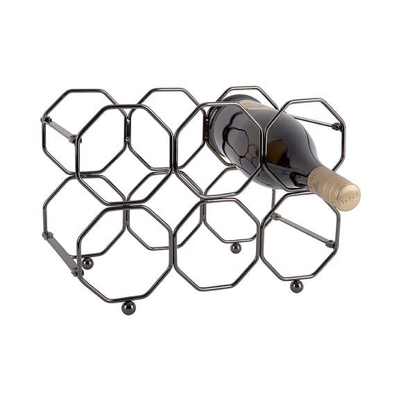Grijs Wijnrek Honeycomb - IJzer Smokey Grijs