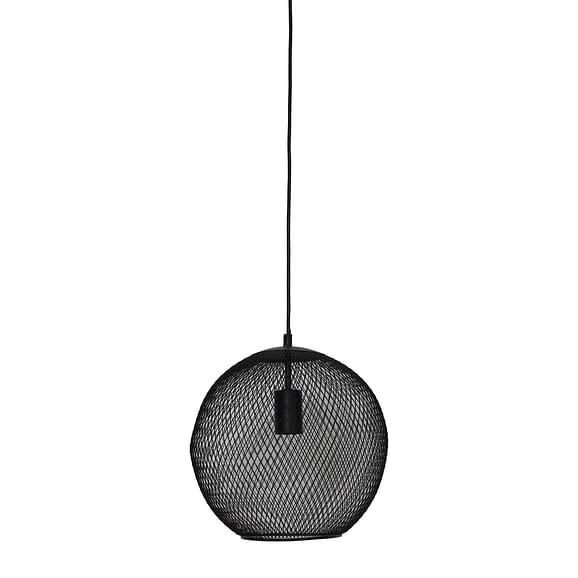 Hanglamp Ø30x29 cm REILLEY mat zwart