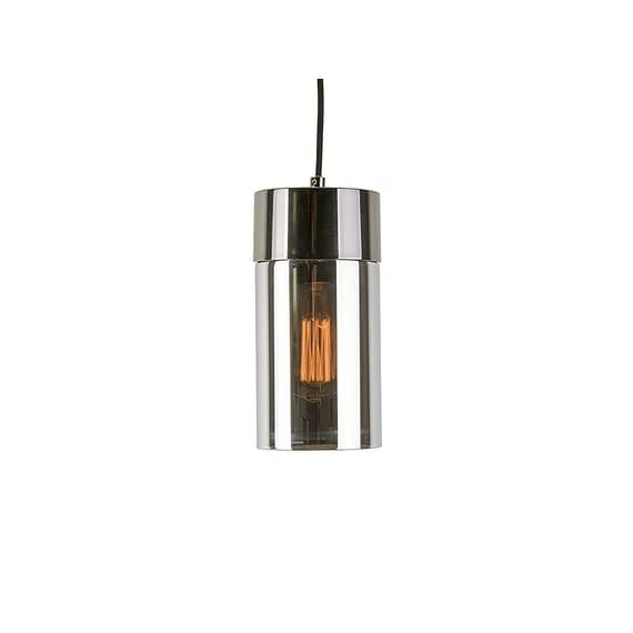 Grijs Hanglamp Lax - Gun Metaal Spiegel finish - 24