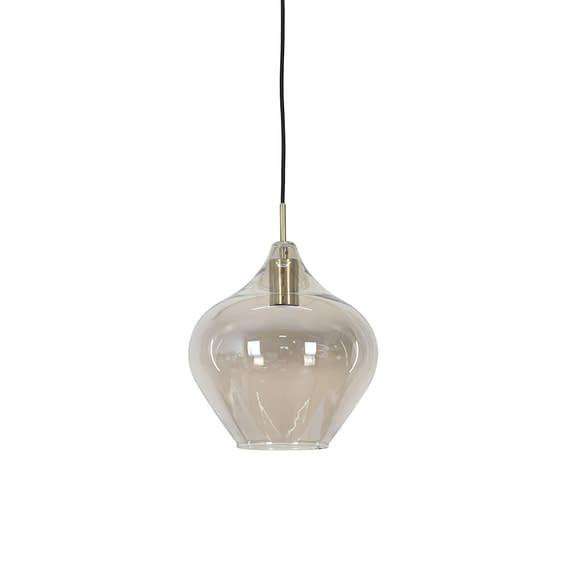 Hanglamp Rakel - Antiek Brons/Smoke - Ø27 x 29