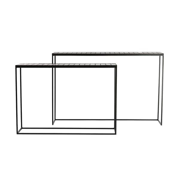 Light & Living Sidetable Manjuto - Oud Roze - S/2 122x27x80 cm