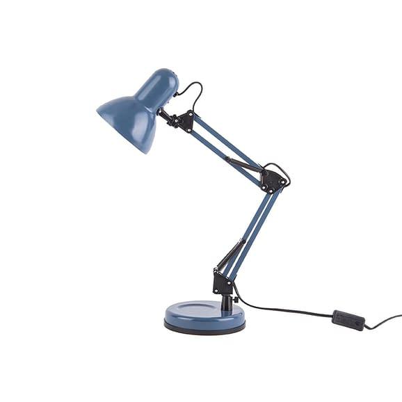 Leitmotiv - Bureaulamp Hobby - Staal mat Donker Blauw - 55x12