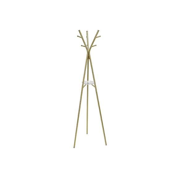 Leitmotiv - Kapstok Deer - Staal Antiek goud - 172x54