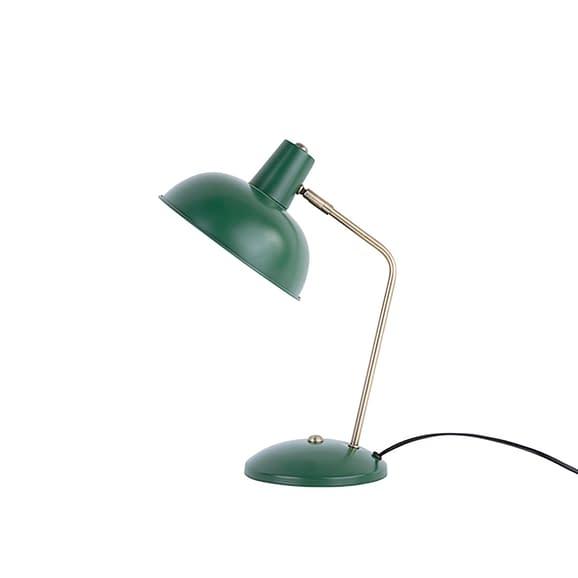Groen Tafellamp Hood - Metaal mat Donkergroen - 37