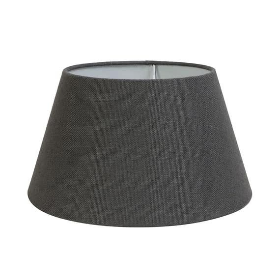 Kap drum 40-30-22 cm LIVIGNO donker grijs