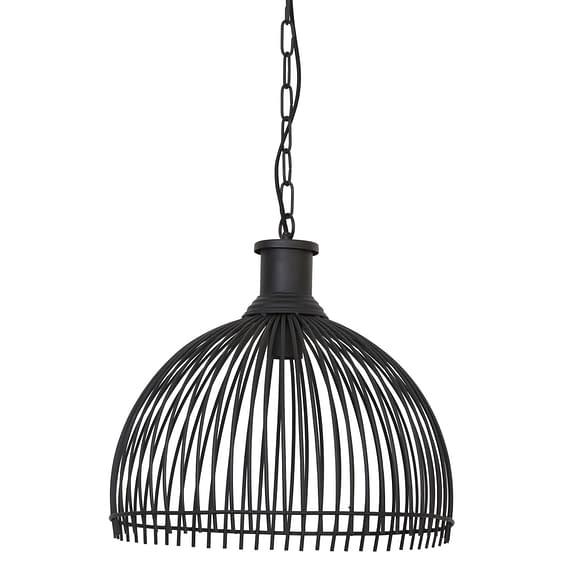 Hanglamp Ø41x40 cm MARONKA mat zwart