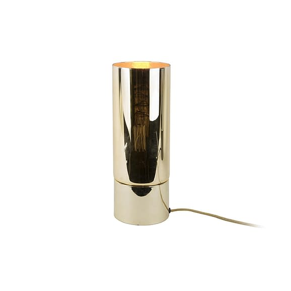 Goud Tafellamp Lax - Goud Spiegel finish - 32x12cm