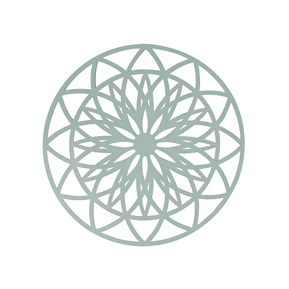 Groen Muurkunst Fairytale - Mint Groen - Large - Ø60cm