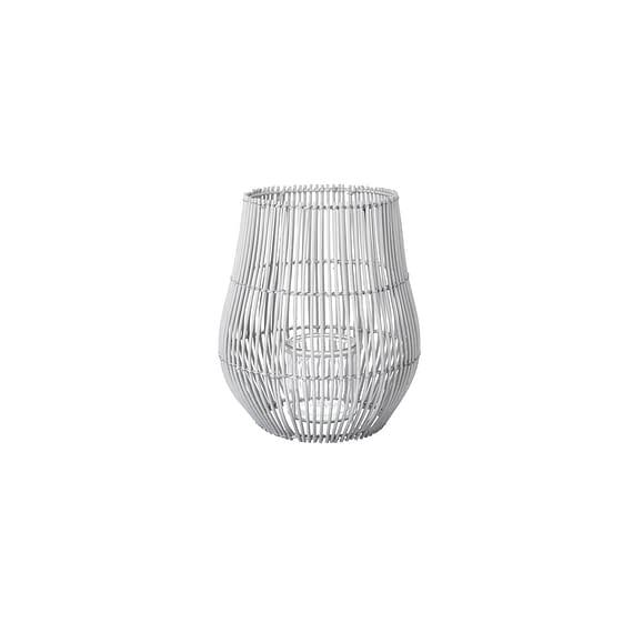 Parlane - Windlicht Eliza - Rotan Grijs - Ø23 x 33 cm