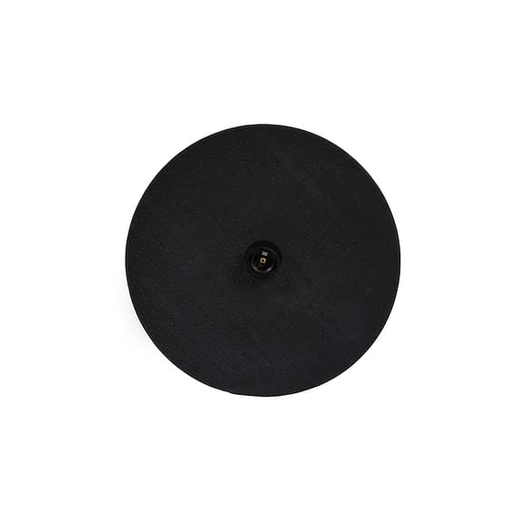 Wandlamp Ø34x9 cm VENUS keramiek zwart