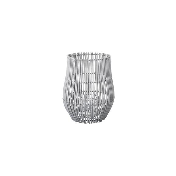Parlane - Windlicht Eliza - Rotan Grijs - Ø20 x 27 cm