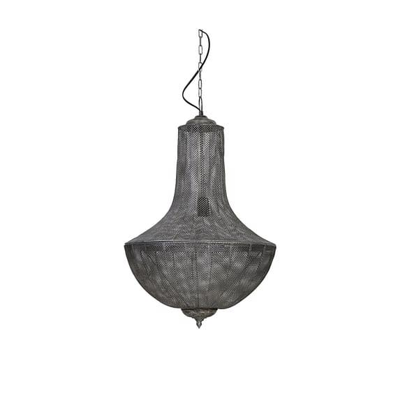Hanglamp KELADI - Antiek-Zilver