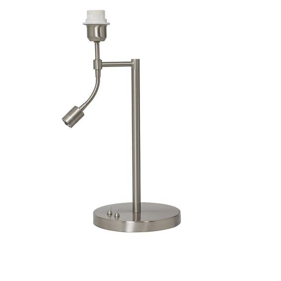 Lampvoet CALGARY - Nikkel Satijn - Met Ledflex