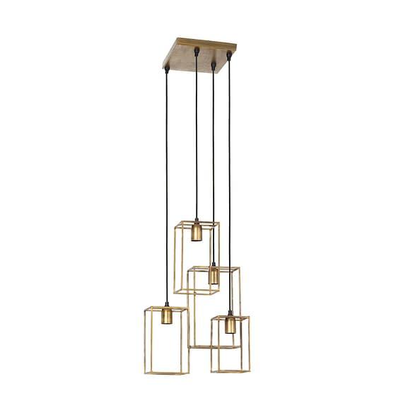 Light & Living - Hanglamp MARLEY - antiek goud 4L - 2912085