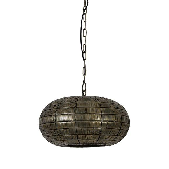 Hanglamp Ø46x29 cm KYMORI antiek brons