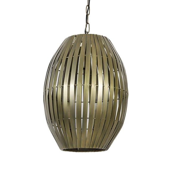 Hanglamp Ø34x49 cm KYOMI antiek brons