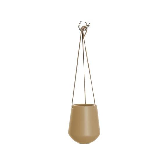 Bruin Hangende plantenpot Skittle - Mat Zandbruin - 66x13