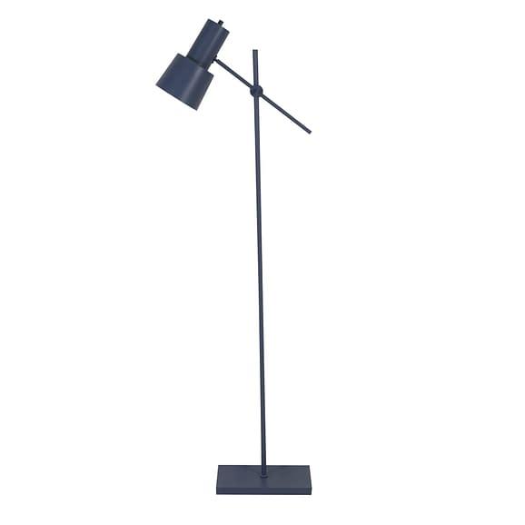 Vloerlamp 31x19x141-155 cm PRESTON mat blauw