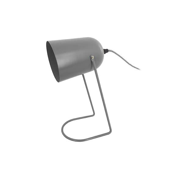Leitmotiv - Tafellamp Enchant - IJzer Mat Muisgrijs - 30x18cm