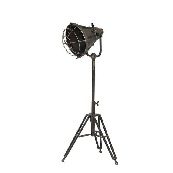 Vloerlamp DAMYAN driepoot - oud brons - M